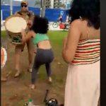 """policia militar 150x150 - VIOLÊNCIA GRATUITA: Policial interrompe com ensaio de grupo de maracatu e ofende integrante: """"Vadia"""" - VEJA VÍDEO"""