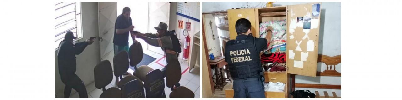 queima roupa - OPERAÇÃO QUEIMA ROUPA: Polícia Federal realiza ação contra quadrilha que assaltou Correios de Junco do Seridó