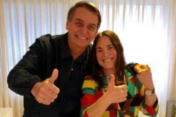 Monitorada, Regina Duarte era vista como militante de esquerda pela ditadura