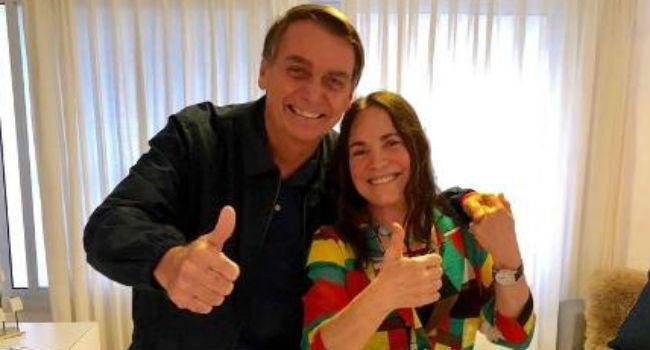 regina duarte defende homofobia de bolsonaro - Monitorada, Regina Duarte era vista como militante de esquerda pela ditadura