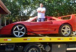 Dentista vence Ferrari na Justiça e espera reaver réplica apreendida