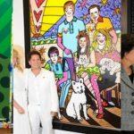 romero britto 150x150 - HALL DA FAMA: Jair Bolsonaro está entre Dilma e Dória como um dos políticos pintados por Romero Britto - RELEMBRE