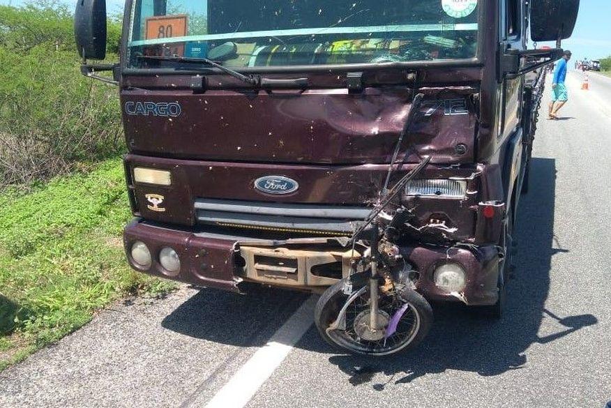 screenshot 2 - COLISÃO: Motociclista morre em acidente com caminhão no Sertão da Paraíba