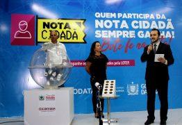 Governo da Paraíba divulga os 21 ganhadores do 1º Sorteio da Nota Cidadã