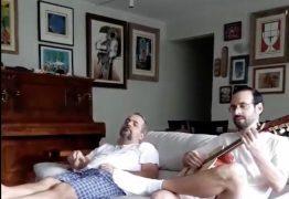 SERESTA DA TRANQUILIDADE: Ministro da Educação publica vídeo cantando ao lado do irmão após erro em notas do Enem – VEJA VÍDEO