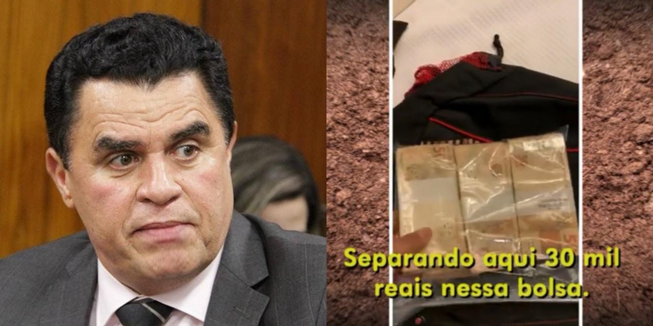 wilson - PÉS DE BARRO: Fantástico irá revelar novos vídeos da investigação envolvendo Wilson Santiago