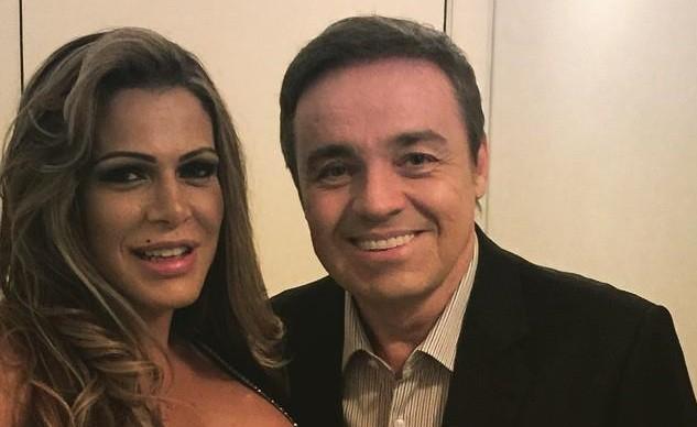 FABIANA ANDRADE E GUGU - Ex-namorada de Gugu revela intimidades do apresentador e alfineta Rose Miriam