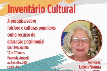 Oficina Inventário Cultural 360x240 - Conde promove II Oficina de Patrimônio e Inventário Cultural
