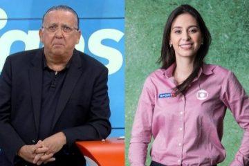 """Web vê """"patada"""" de Galvão na repórter Nadja Mauad; narrador se desculpa"""