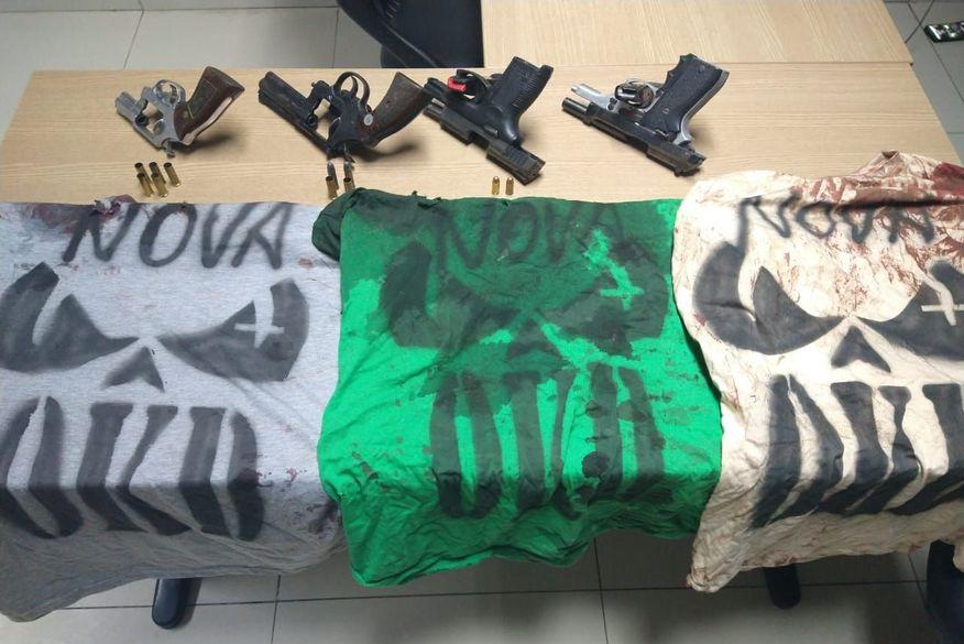 WhatsApp Image 2020 02 08 at 16.22.46 - CENA DE GUERRA - Polícia acaba com confronto armado entre grupos rivais, mata dois e fere um em bairro da Capital - VEJA VÍDEOS