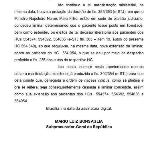WhatsApp Image 2020 02 12 at 20.48.20 1 - EXCLUSIVO: MPF reafirma ao STJ pedido de prisão preventiva de Ricardo Coutinho; LEIA MANIFESTAÇÃO