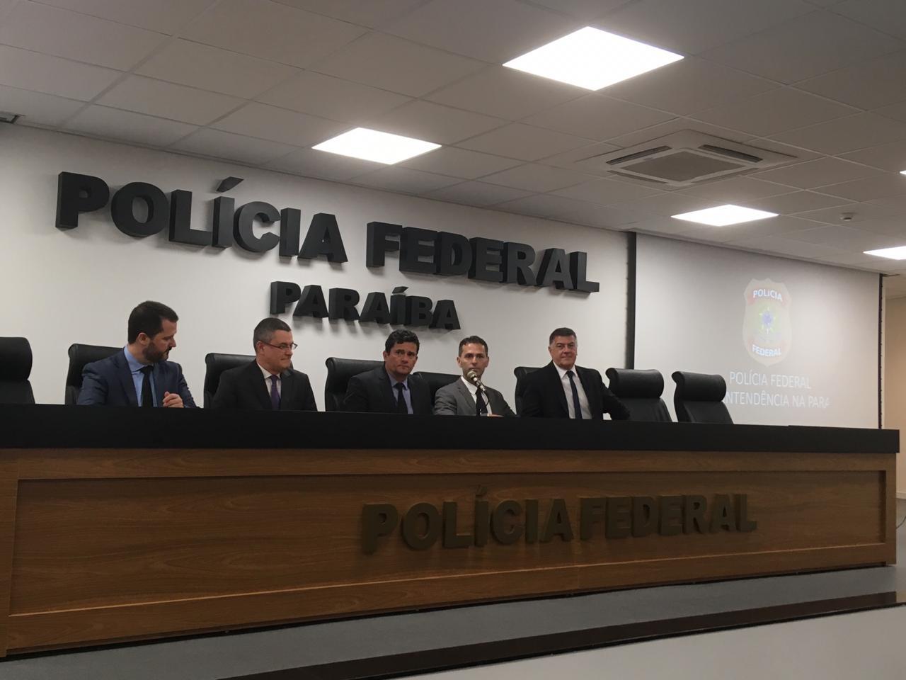 WhatsApp Image 2020 02 17 at 12.34.58 - Sérgio Moro reforça mensagem de combate a corrupção na PB e reconhece trabalho de estados na redução da violência - por Felipe Nunes