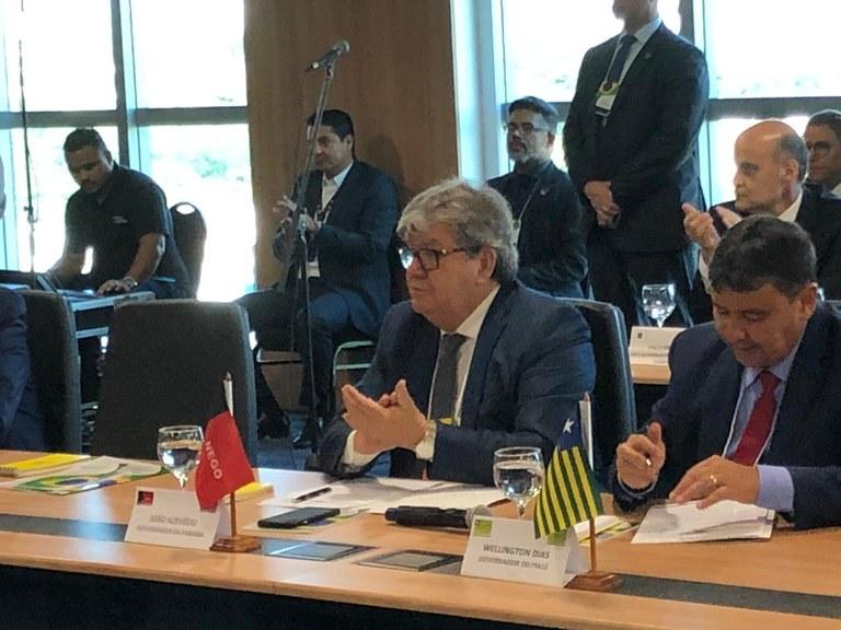 b738c506 c2ad 4d1d b411 dc6c6eb3f19b - Diminuição do valor dos combustíveis será discutida na Reforma Tributária, diz Guedes em reunião com João Azevêdo e governadores