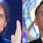 bolsonaro e roberto carlos 150x150 - Roberto Carlos culpa equipe de Bolsonaro por 'dificuldades' e diz que presidente é 'bem intencionado'