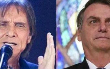 bolsonaro e roberto carlos 360x228 - Roberto Carlos culpa equipe de Bolsonaro por 'dificuldades' e diz que presidente é 'bem intencionado'