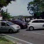 buzinaço 150x150 - CONGESTIONAMENTO E ACIDENTES: Manifestação da segurança pública causa caos em principal via da capital - VEJA VÍDEO