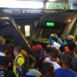 colisao metro recife 150x150 - VEJA VÍDEO: Colisão entre dois trens do Metrô do Recife deixa dezenas de feridos