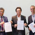 convenio alpb 150x150 - ALPB assina convênio com IBGE e Empaer para atualizar limites municipais da Paraíba