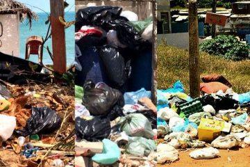 costa do lixo sem coleta regular lixo fica acumulado nas praias de conde no litoral sul do paraiba 360x240 - PSB emite nota e diz que CPI do Lixo é arbitrária; confira