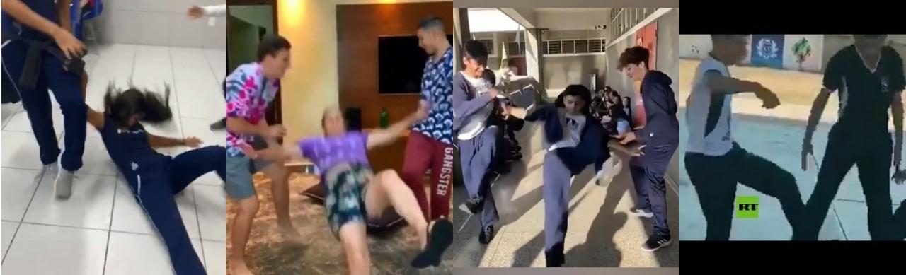 ROLETA HUMANA E DESAFIO DA RASTEIRA: Brincadeiras de 'derrubar' já causaram morte de adolescente em Mossoró S