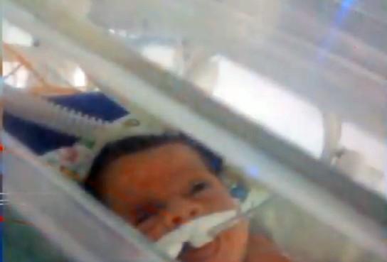 emily vitoria - EM CAMPINA GRANDE: Bebê morre após supostamente cair de maca do Samu