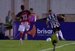 Campinense cai na primeira fase da Copa do Brasil em bom jogo contra Atlético-MG