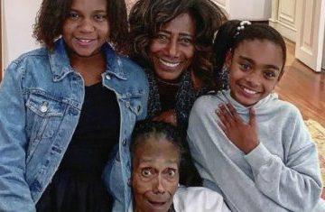 gloria maria e familia credito da foto reproducao instagram 418x235 360x235 - Morre mãe de Glória Maria aos 89 anos de idade