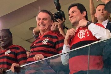 moro flamenrgo bolsonaro 360x240 - 'FORA BOLSONARO': presidente é xingado em jogo do Flamengo, no Mané Garrincha