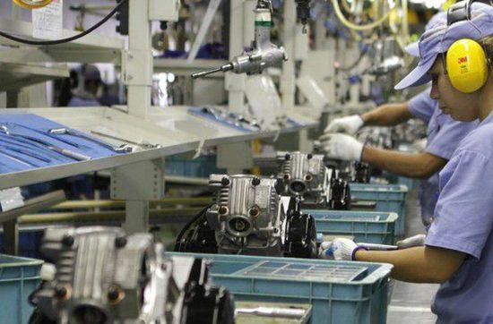 producao industrial 1 550x362 - FGV: Economia brasileira cresceu 1,2% em 2019