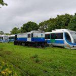 trens na estação 150x150 - DE 22 A 26 DE FEVEREIRO: Trens de João Pessoa param durante o período carnavalesco