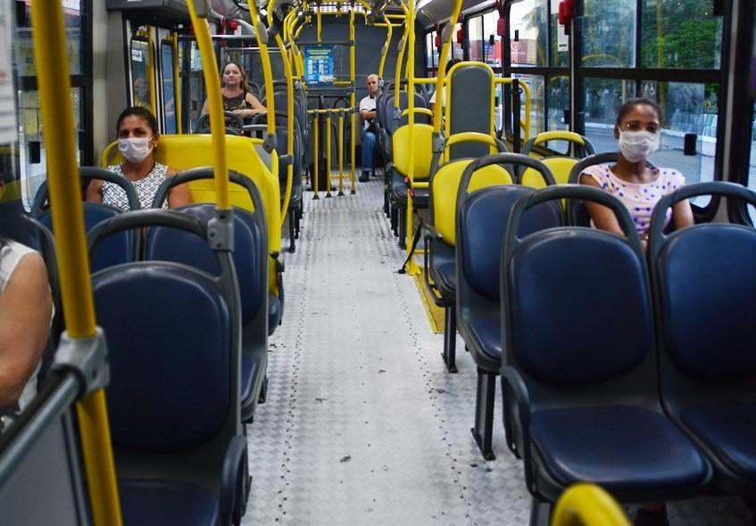 22 03 2020 ÔnibusSaúde FotoGilbertoFirmino 5 2 - Transporte Saúde tem higienização reforçada para garantir segurança de usuários e motoristas