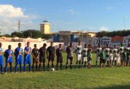 Trovão Azul e Canário do Sertão ficam no zero a zero no José Cavalcante em Patos