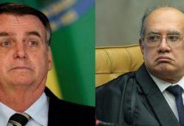 Gilmar Mendes sobre Bolsonaro: Por mais árdua que seja a crise, não se sustenta o luxo da insensatez