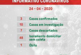 Conde registra primeira morte por Covid-19