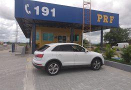 PRF recupera veículo de luxo alugado e nunca devolvido à locadora