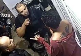 Câmera de segurança flagra policiais militares agredindo homem em Fagundes, na PB – VEJA VÍDEO