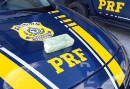 Polícia Rodoviária Federal prende homem com cocaína escondida em sacola de aplicativo de delivery de refeições