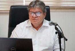 Sem previsão, fim do isolamento será discutido com base em realidade de cada cidade, diz João Azevêdo; VEJA VÍDEO