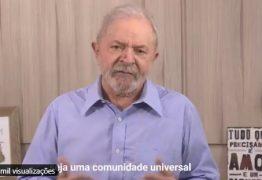 Em vídeo de 1º de maio, Lula culpa capitalismo por coronavírus, ataca Bolsonaro e pede 'comunidade universal' ; VEJA VÍDEO