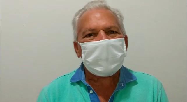 Zé Aldemir - 40% DO PULMÃO COMPROMETIDO:  com Covid-19, prefeito Zé Aldemir é internado em hospital