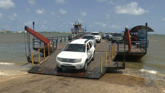 balsa cabedelo - Balsas que fazem transporte entre Cabedelo e Costinha voltam a funcionar nesta terça-feira