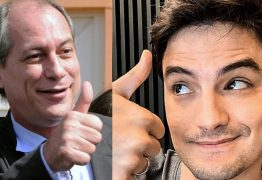 Ciro Gomes emite mensagem de apoio a Felipe Neto após youtuber criticar Bolsonaro