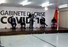 Secretários detalham como será isolamento mais rígido na Paraíba – VEJA VÍDEO