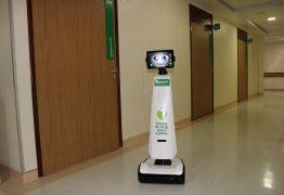 Unimed João Pessoa é pioneira no uso de robô em tratamento de pacientes com covid-19