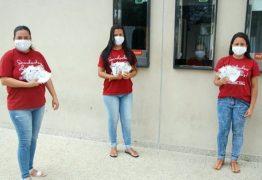Priscylla's Hall doa mais de 2 mil máscaras para hospitais e asilos de JP