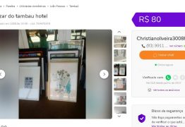 HISTÓRIA VENDIDA: 'Bazar do Hotel Tambaú' é excluído de anúncio na internet após reportagem do Polêmica Paraíba