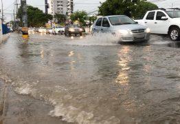 Chove quase 100 milímetros em João Pessoa nas últimas 24 horas e Defesa Civil segue alerta