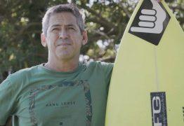 Paraibano Fábio Gouveia comemora posto de segundo melhor surfista brasileiro da história