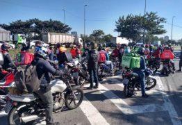 Motoboys de delivery prometem adesão de 50% da categoria em greve nesta quarta-feira