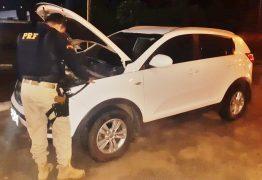 Carro roubado em Pernambuco que estava circulando clonado é recuperado na Paraíba